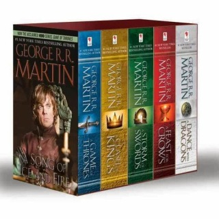 eBook A Game of Thrones 1-5 epub, mobi