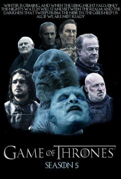 GoT season 5, game of thrones, s5, episodes